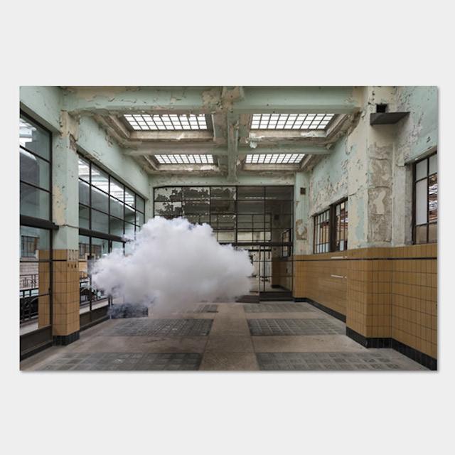 Послушные облака от Berndnaut Smilde.