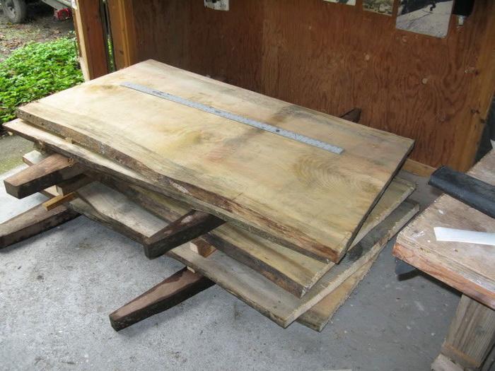 Заготовка древесины для скульптуры