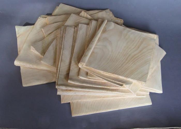 Газеты из дерева