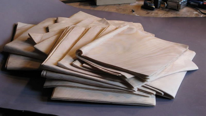 Деревянные газеты от Randall Rosenthal