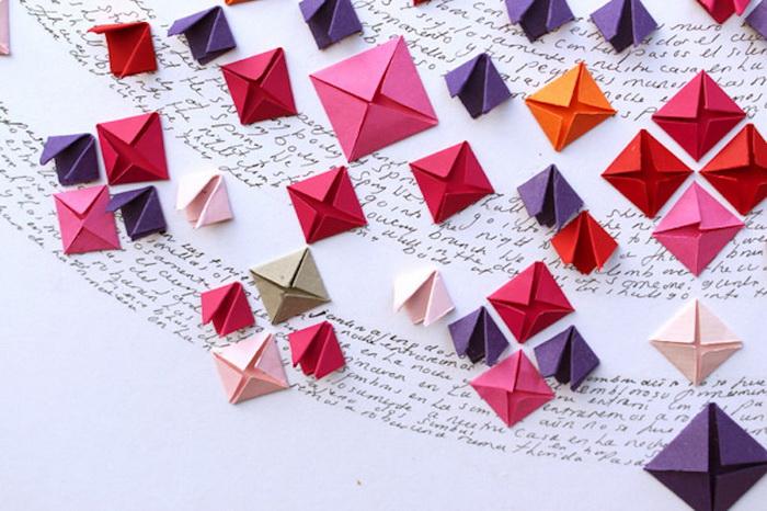 Фрагмент оригами