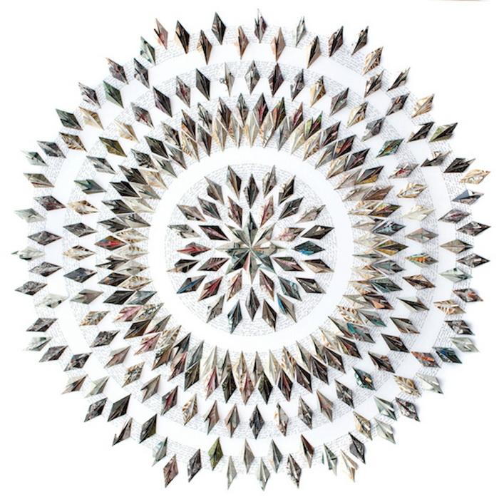 Оригами художницы Caroline Attan