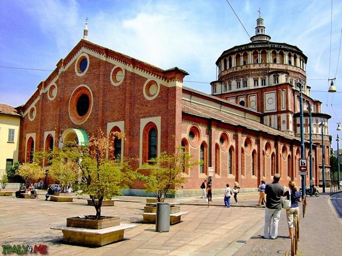 Церковь Санта-Мария-делле-Грацие. Фото: Интернет