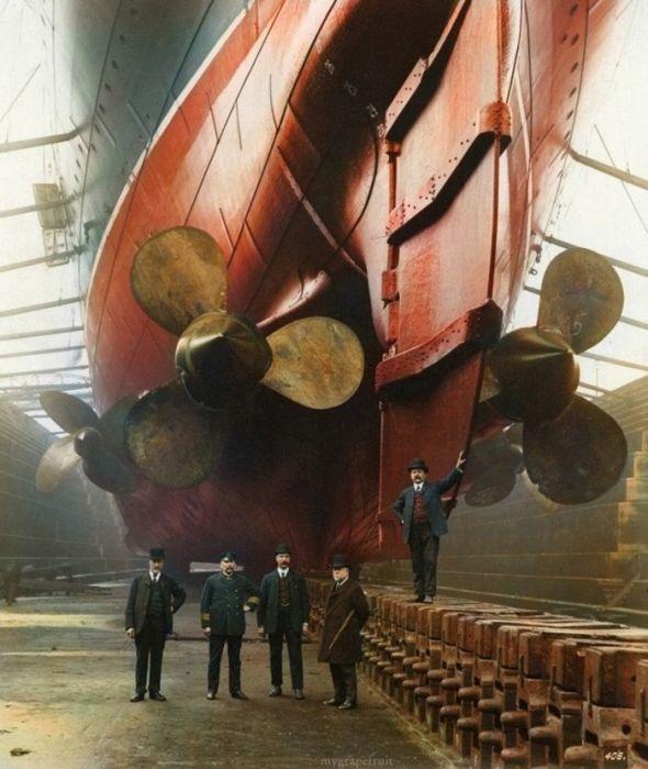 Знаменитый корабль Mauritania