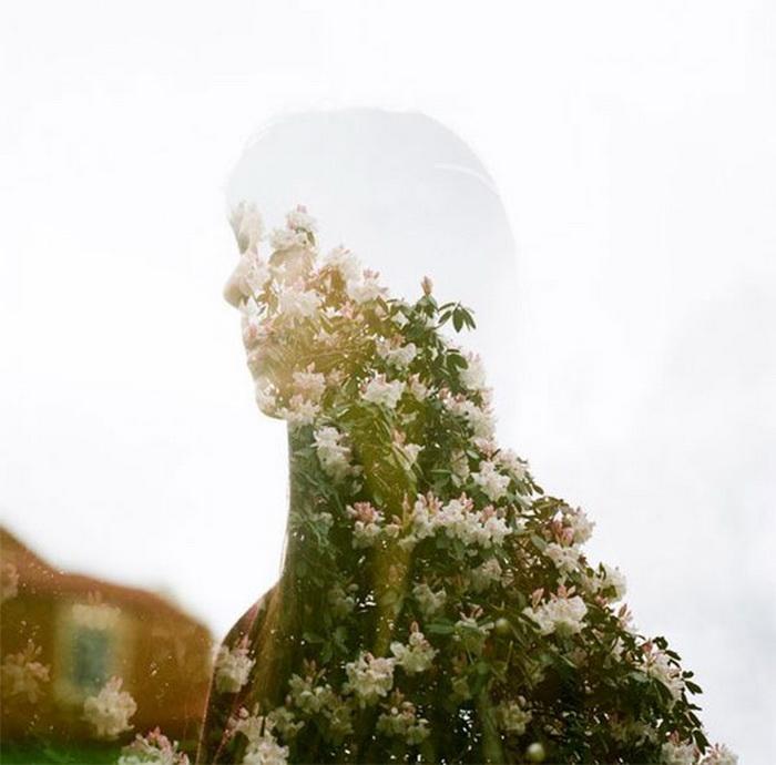 двойная экспозиция в работах современных фотографов