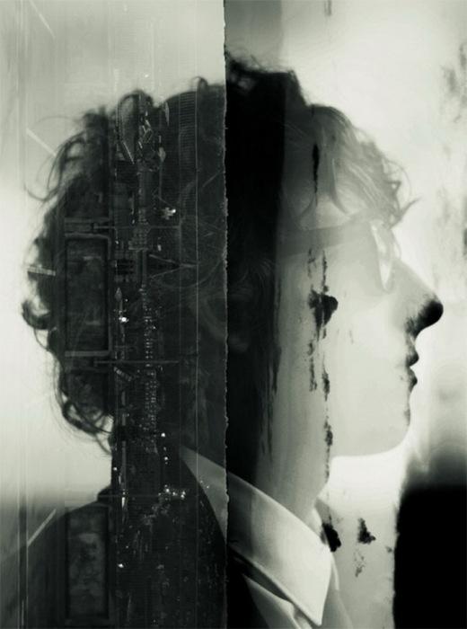 фотографии с эффектом двойной экспозиции