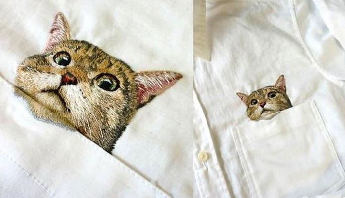 Дресс-кот от японской рукодельницы Хироко Кубота