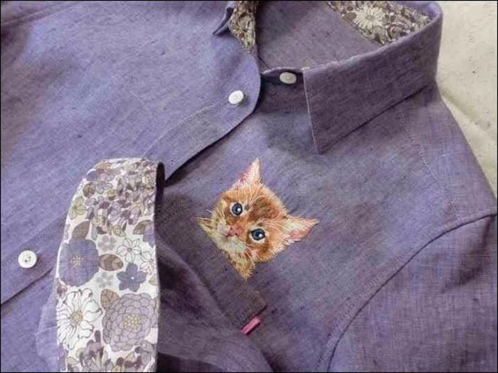 Дресс-кот от Хироко Кубота