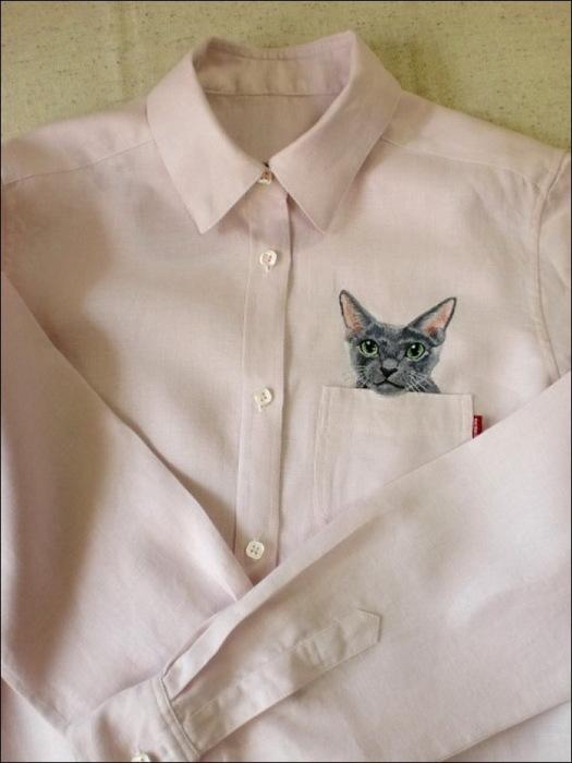 Дресс-кот в действии
