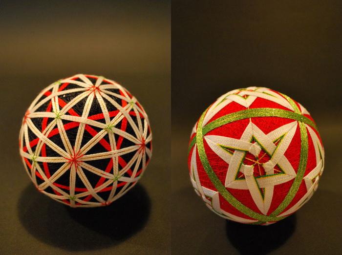 Шары тэмари Embroidered-temari-balls-japan-11