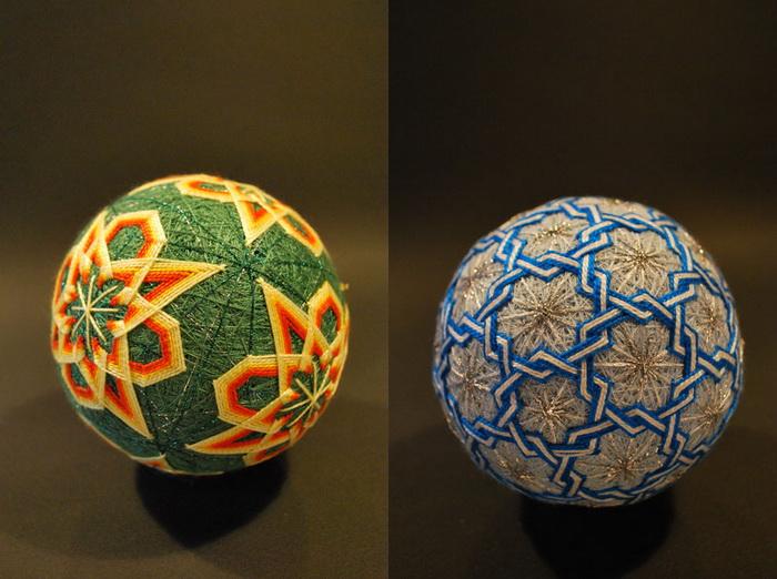 Шары тэмари Embroidered-temari-balls-japan-14