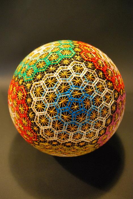 Шары тэмари Embroidered-temari-balls-japan-9