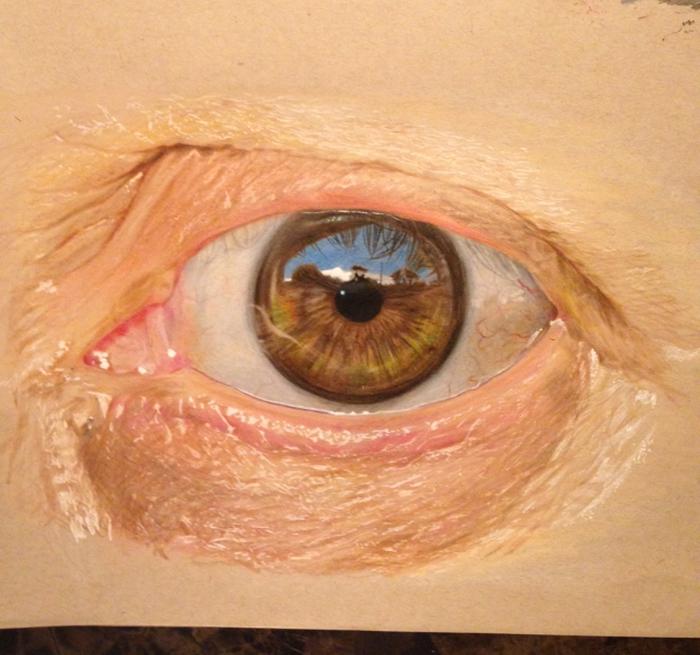 Невероятные изображения глаз от Redosking