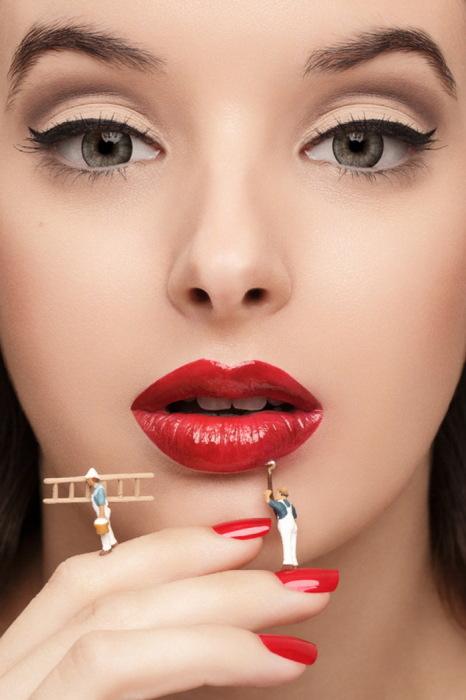 Искусство макияжа от Anna Hill
