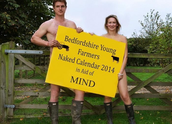 Календарь в поддержку фонда душевнобольных людей Mind