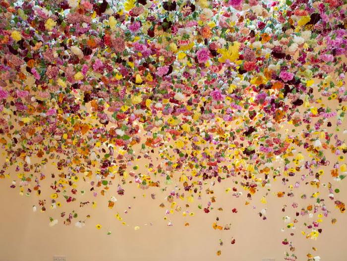 Цветочные композиции Rebecca Louise Law.