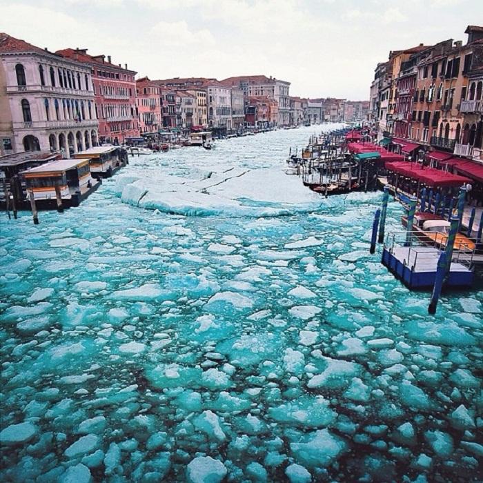 Венеция зимой.