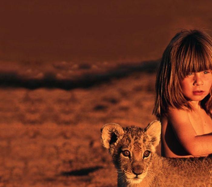 Tippi Degre и львенек