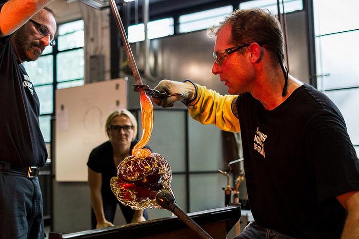 Гигантские человеческие органы из стекла от дизайнера Sigga Heimis