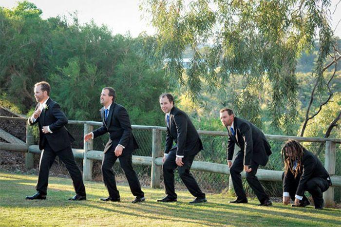 Обзор необычных свадебных фотографий
