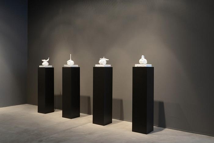Экспозиция скульптора Jan Fabre.