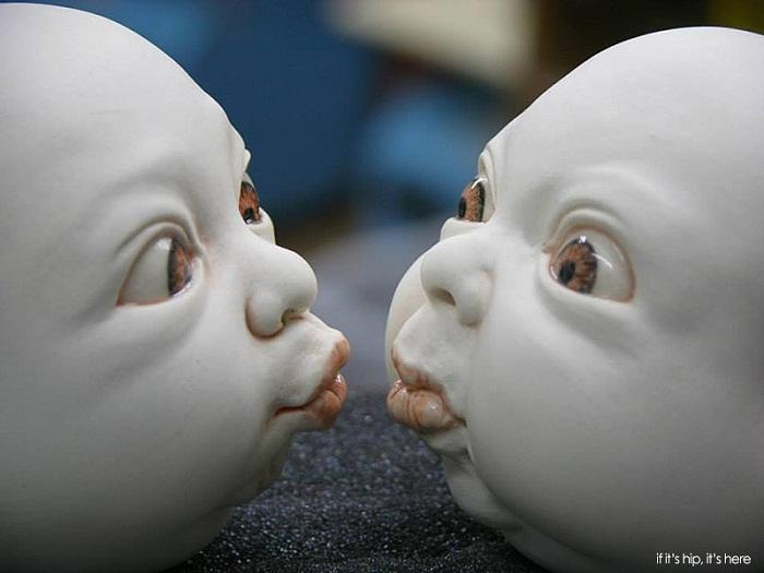 Фарфоровые скульптуры Johnson Tsang.