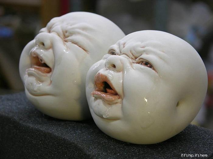 Плачущие дети Johnson Tsang.