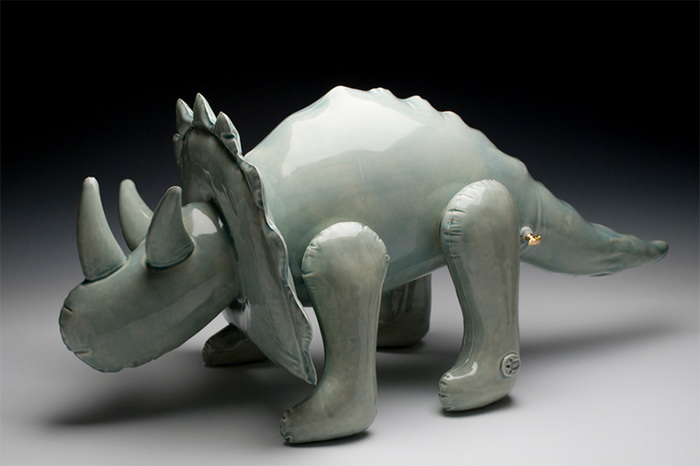 Керамические игрушки скульптора Brett Kern