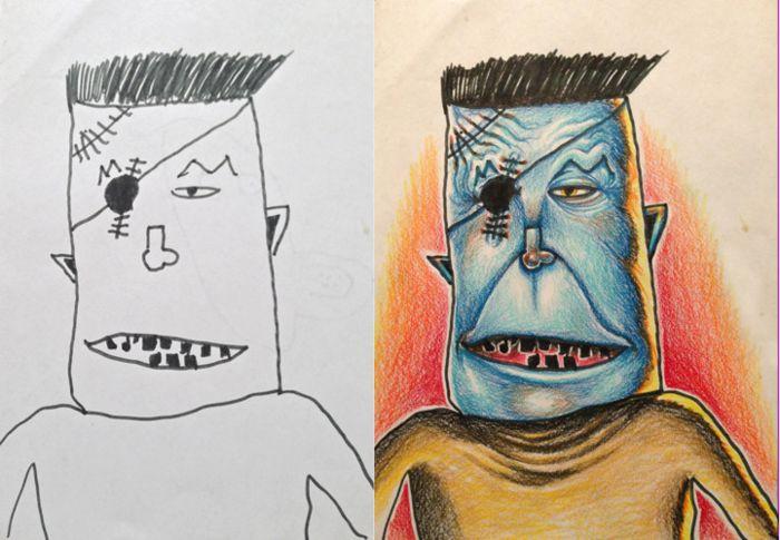 Коллекция рисунков Coloring my kids art