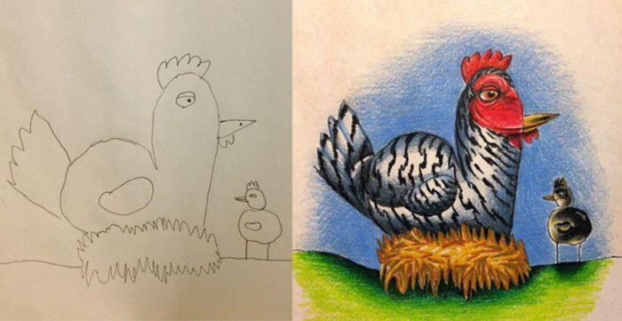 Коллекция Coloring my kids art