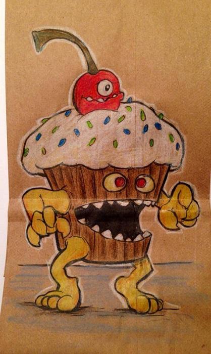 Голодный кекс.