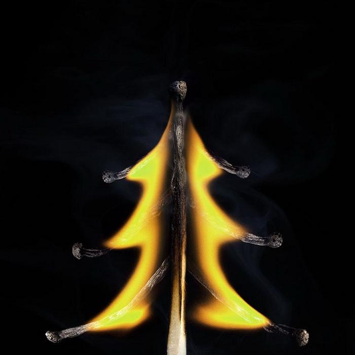Сожженные спички в творчестве  Stanislav Aristov