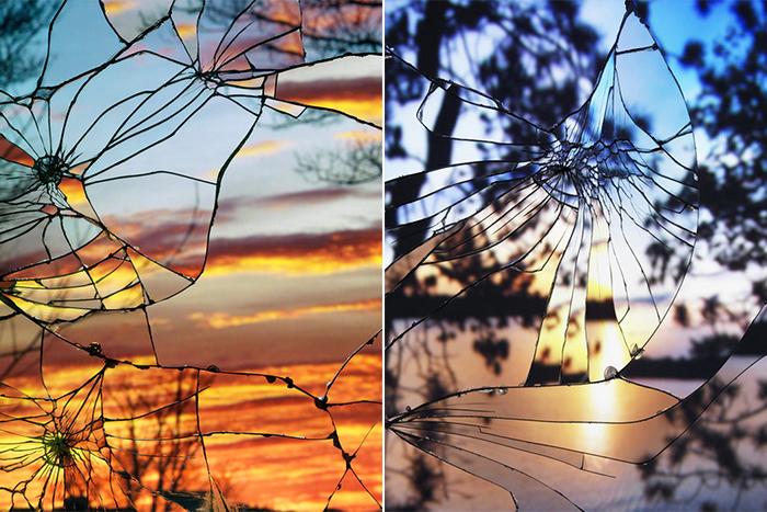 Закат в разбитых зеркалах