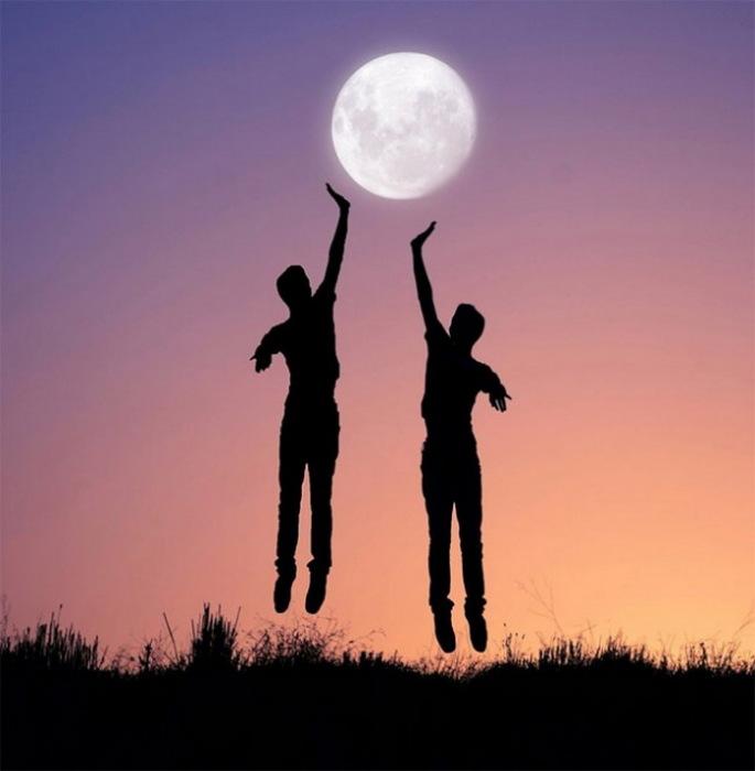 Дотянуться до Луны