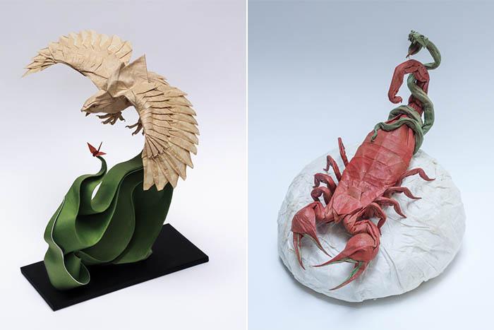 Оригами от художника Nguyen Hung Cuong