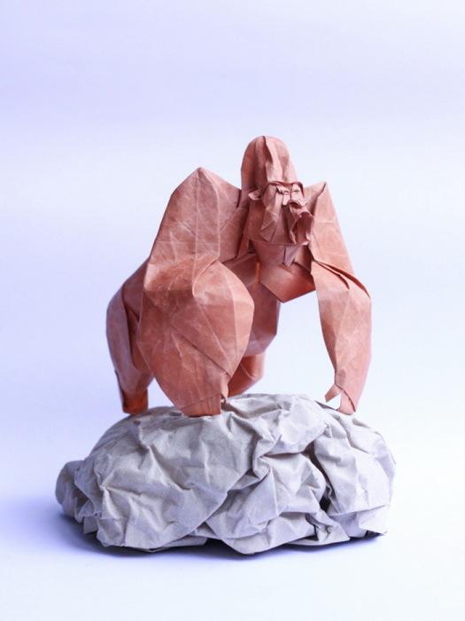Удивительные фигурки-оригами от художника Nguyen Hung Cuong