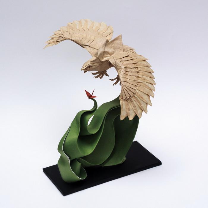 оригинальные фигурки-оригами