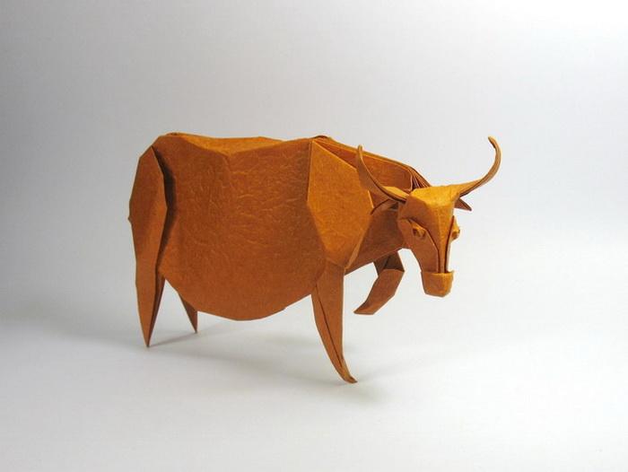 Оригами от вьетнамского художника