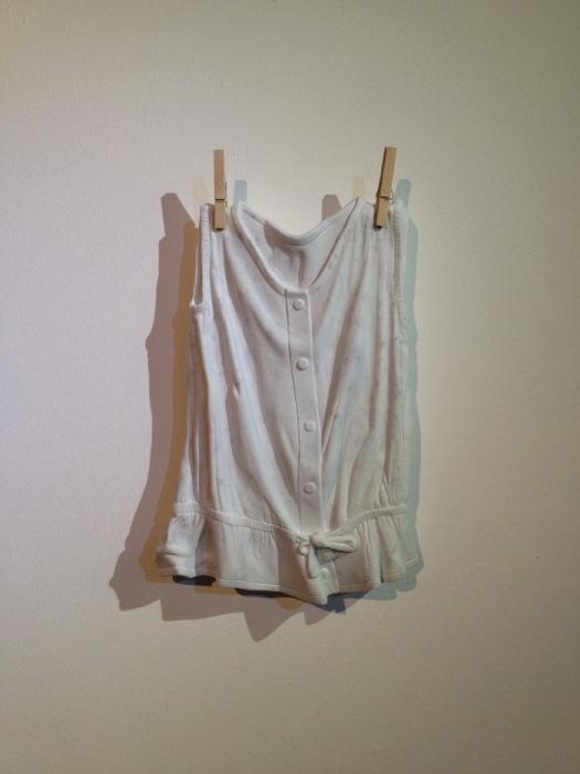 Блузка из мрамора от Alasdair Thomson.