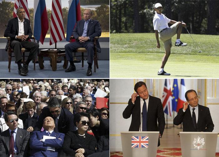 Забавные фотографии политиков