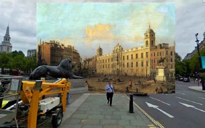 Прошлое и настоящее Лондона в коллекции Reddit Shystone
