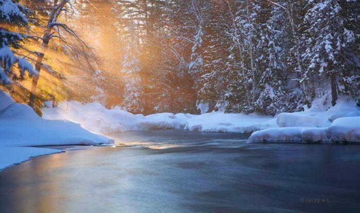 Лучшие зимние пейзажи
