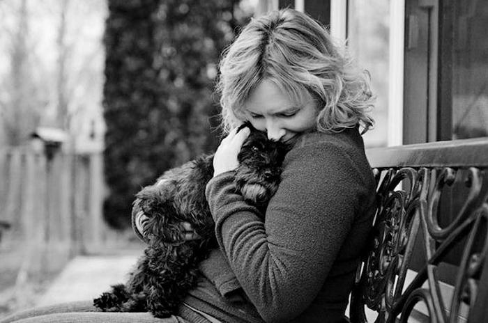 Прощание собак с хозяевами