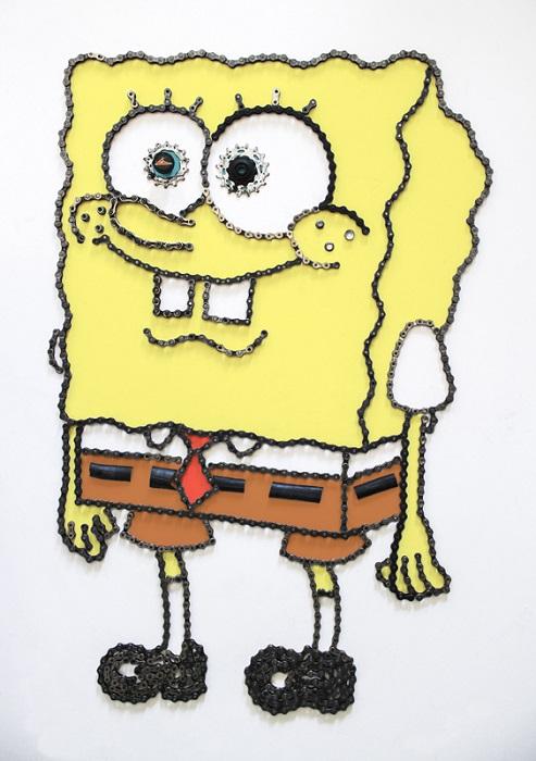 Губка Боб квадратные штаны.