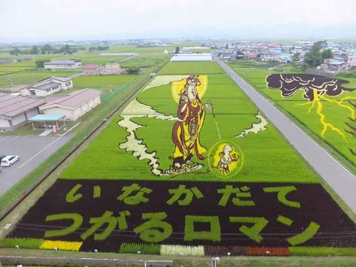 Культура Японии на рисовых полях