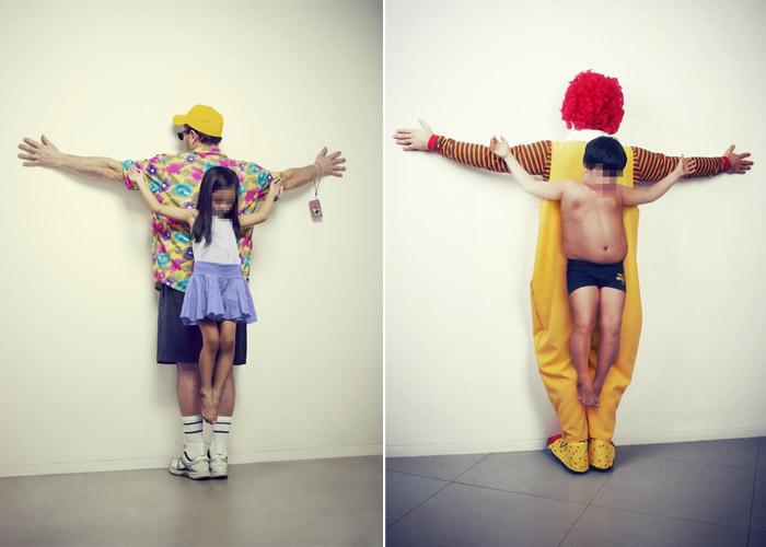Проблемы детей в работах фотографа Erik Ravelo