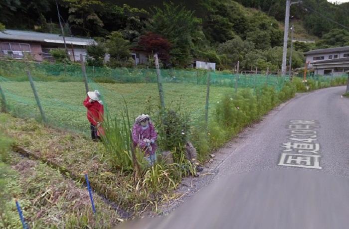 Необычная деревня Nagoro.