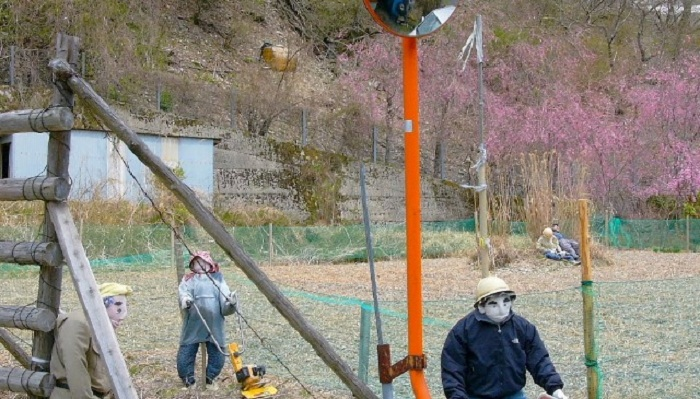 Nagoro: деревня кукол.