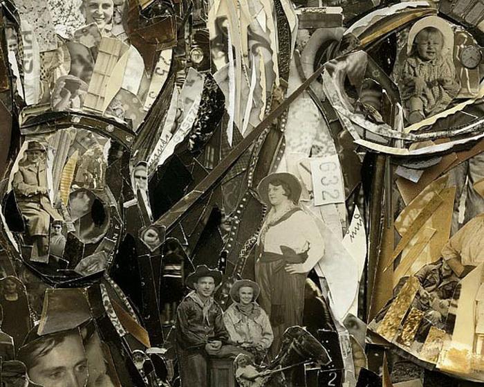 Работы бразильского художника Vik Muniz.