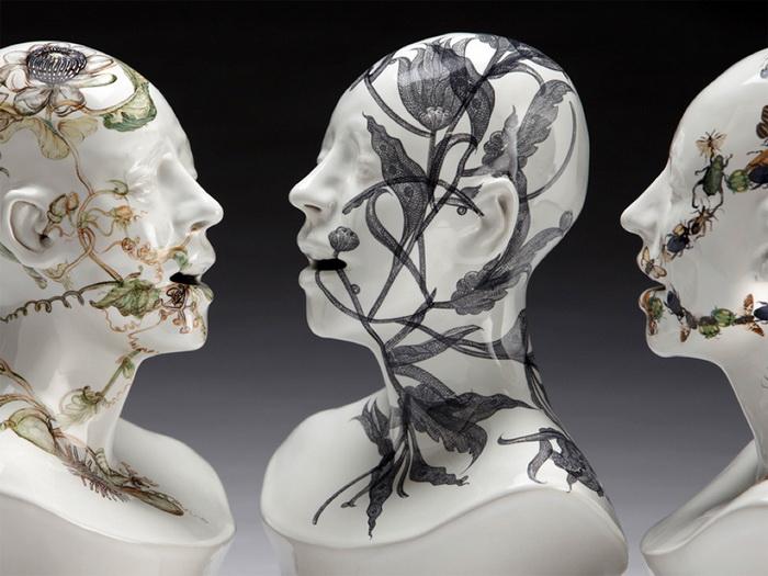 Скульптуры от Jess Riva Cooper.